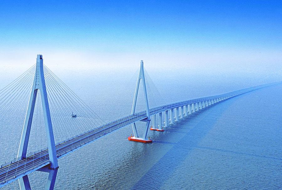 Ponte di Hangzhou Bay