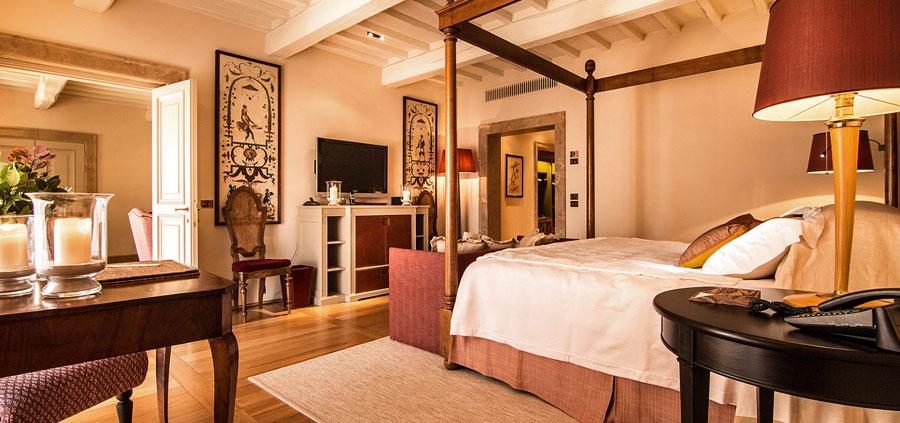 Camera dell'Hotel Castiglion del Bosco