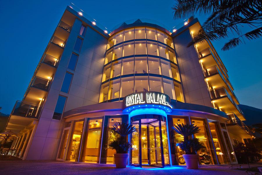 Esterno dell'Hotel Kristal Palace