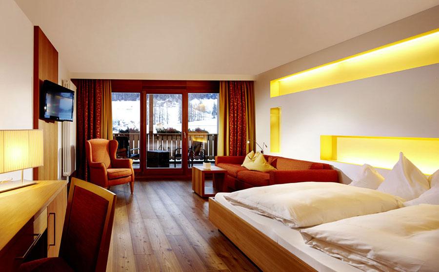 Camera dell'hotel Monika