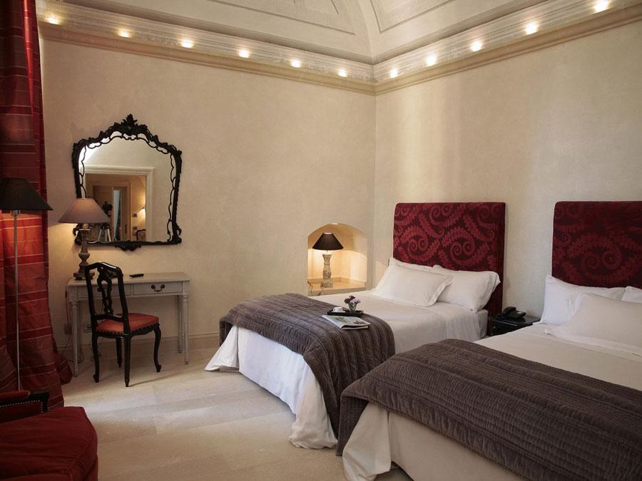 Camera dell'hotel Palazzo Gattini