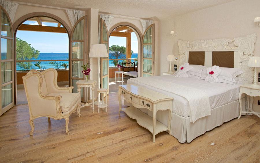 Camera dell'hotel di lusso La Villa Del Re