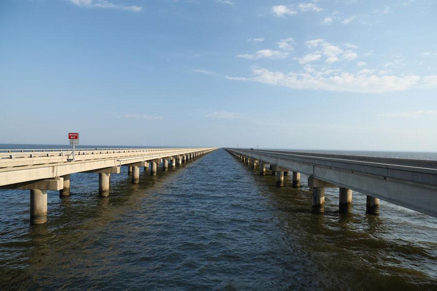 Ponte di Lake Pontchartrain Causeway