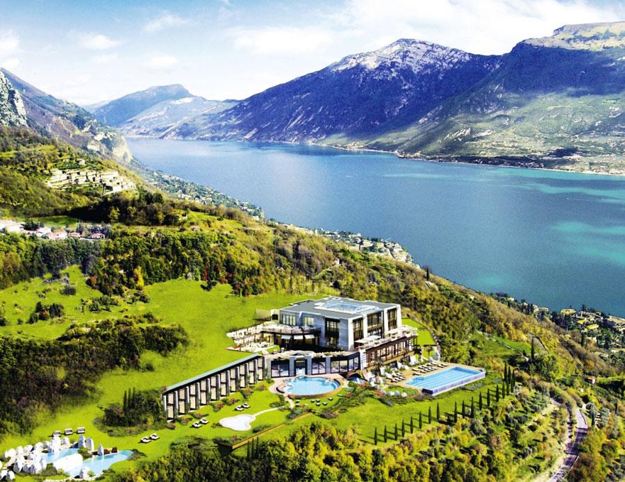 Esterno del Lefay Resort Spa Lago di Garda