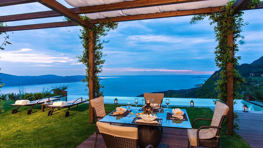 Piscina del Lefay Resort Spa Lago di Garda