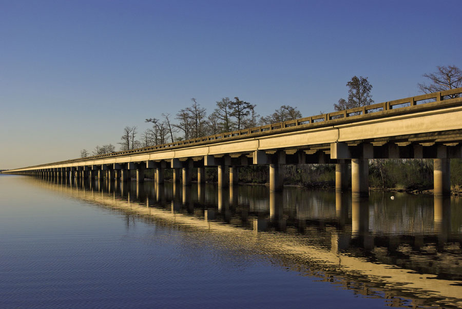 Ponte della Louisiana Highway 1