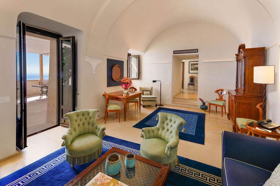 Camera del Monastero Santa Rosa Hotel e Spa