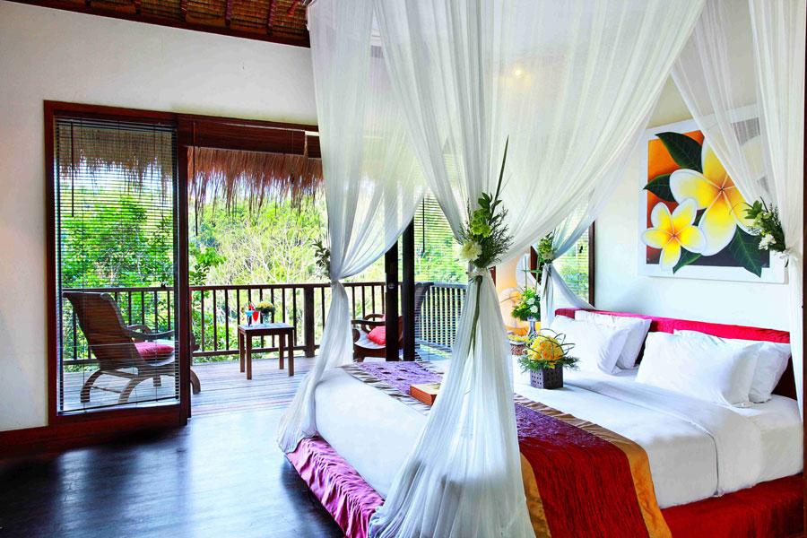 Foto della camera dell'hotel Nandini a Bali