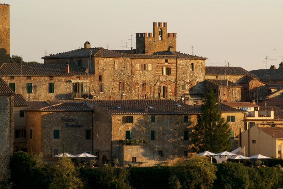 Esterno dell'hotel di lusso Palazzo Brandano