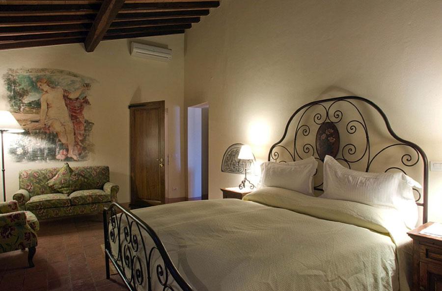 Camera dell'hotel di lusso Palazzo Brandano