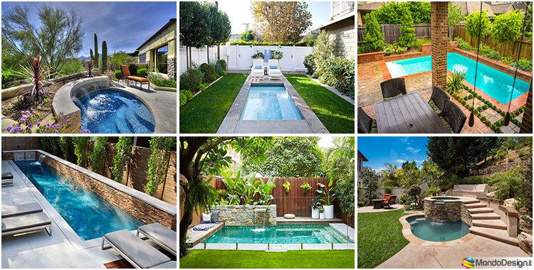 70 foto di piccole piscine interrate per piccoli giardini for Piscine per giardino