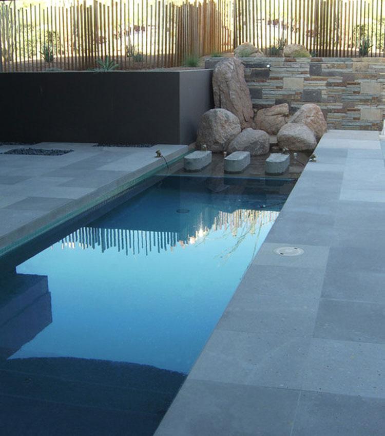 Foto della piccola piscina interra n.06