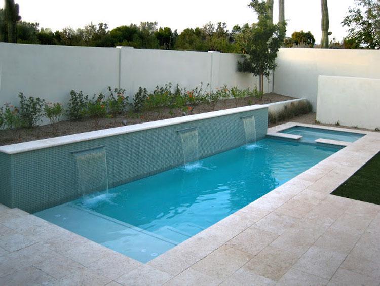 Foto della piccola piscina interra n.21