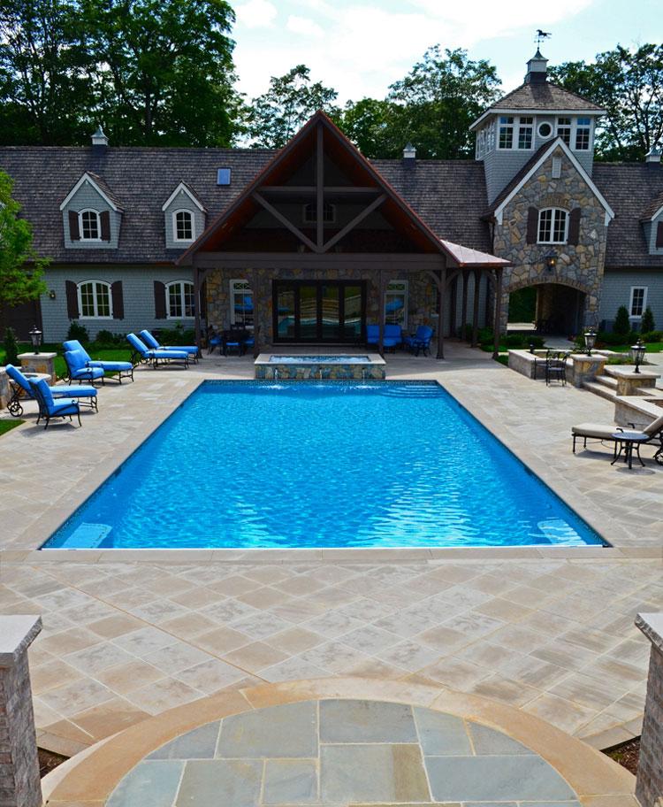 Foto della piccola piscina interra n.26