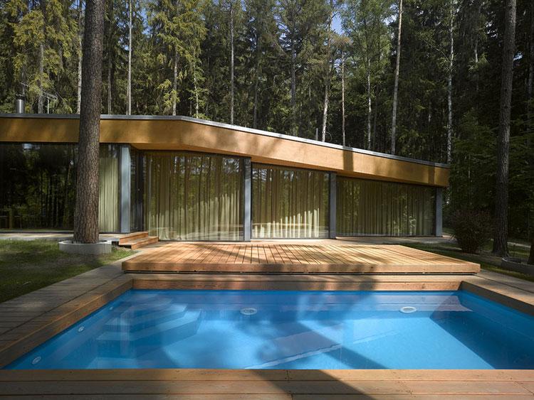 Foto della piccola piscina interra n.45