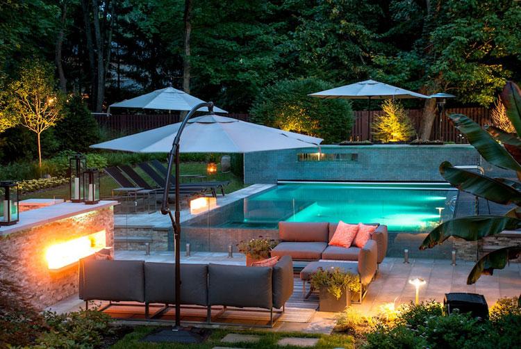 Foto della piccola piscina interra n.48