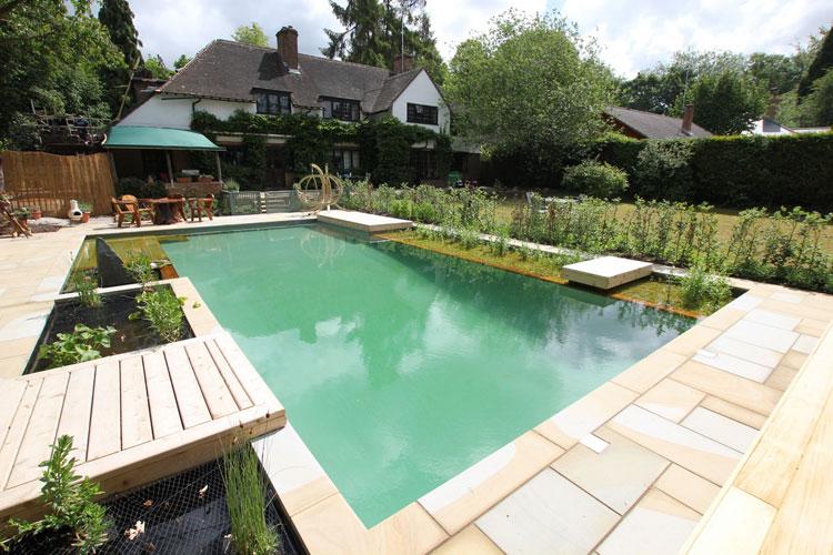 Foto della piccola piscina interra n.49