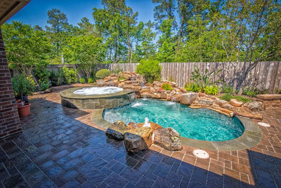 70 foto di piccole piscine interrate per piccoli giardini for Pool design unique