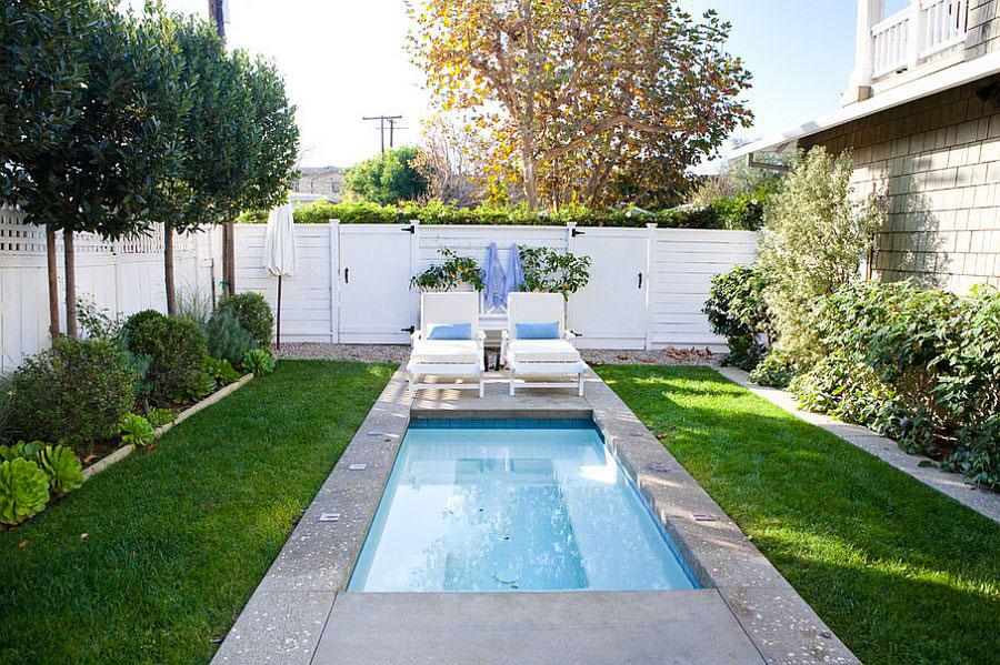 Foto della piccola piscina interra n.56
