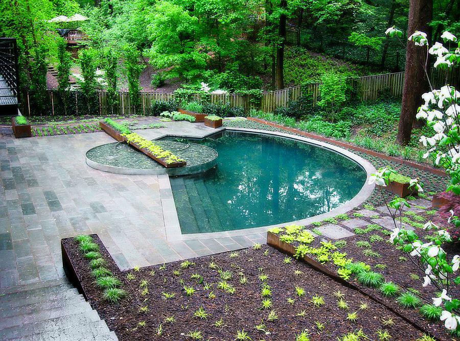 Foto della piccola piscina interra n.60