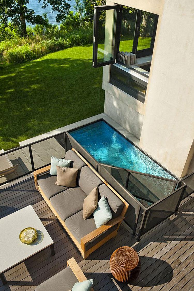 Foto della piccola piscina interra n.62