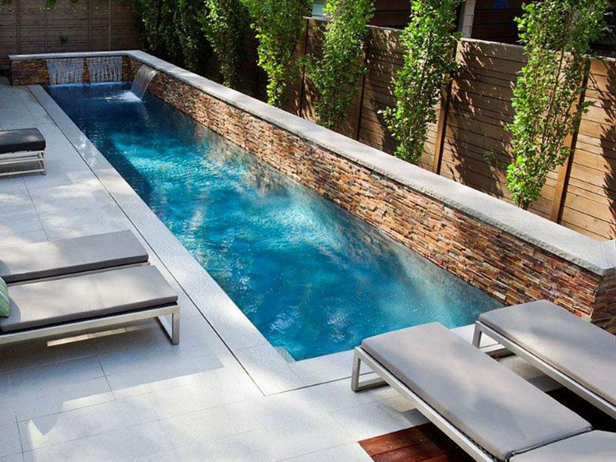 Foto della piccola piscina interra n.68
