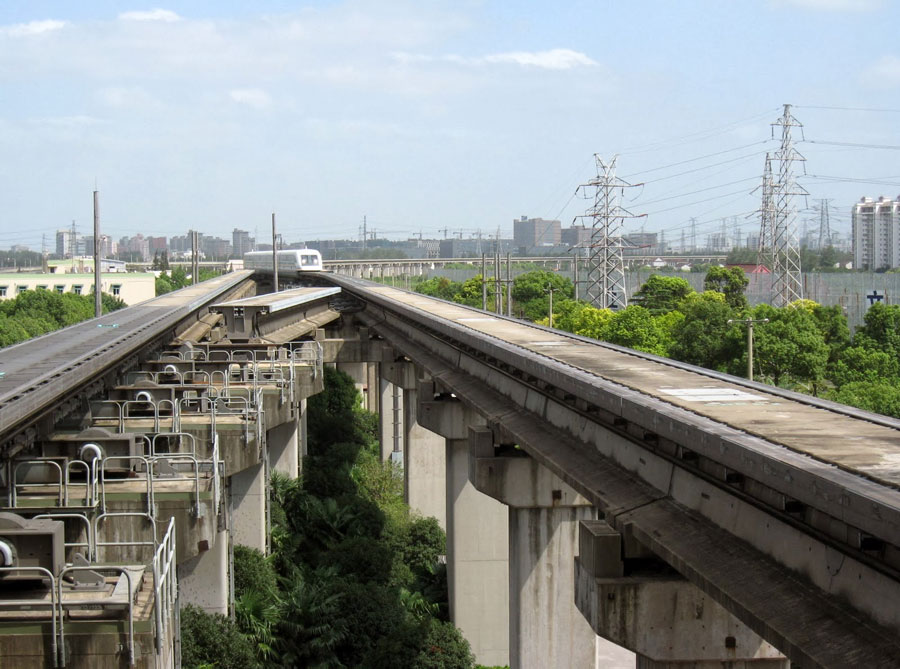 Ponte dello Shanghai Maglev Line