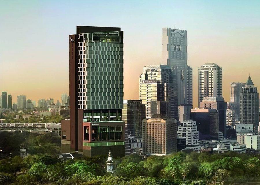 Esterno dell'hotel da sogno Sofitel So Bangkok