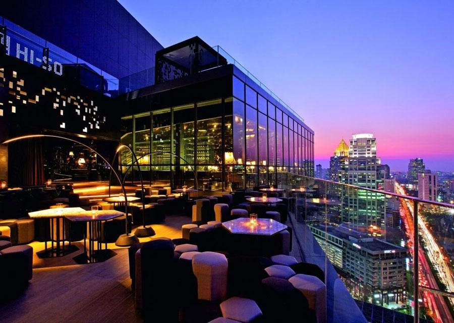 Terrazzo dell'hotel Sofitel So Bangkok
