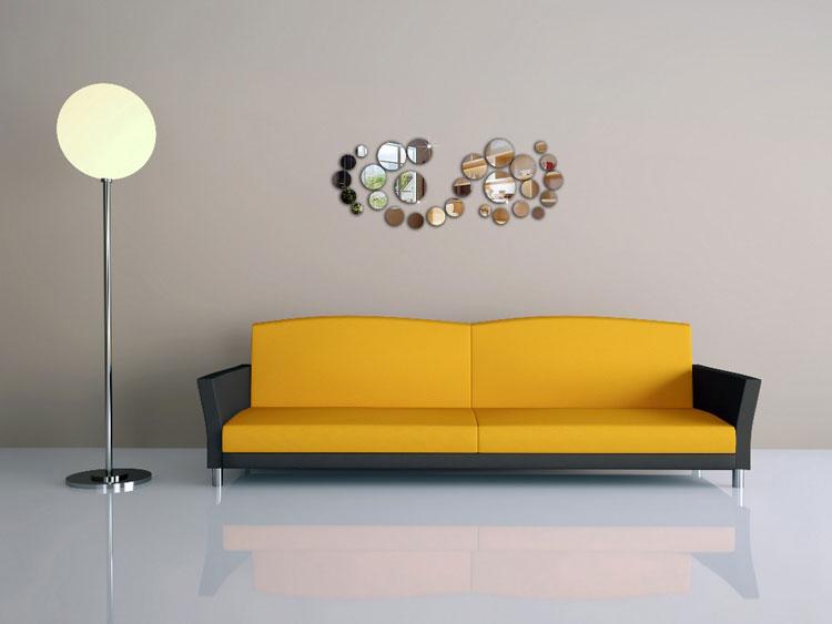 Foto dello specchio decorativo adesivo n.02