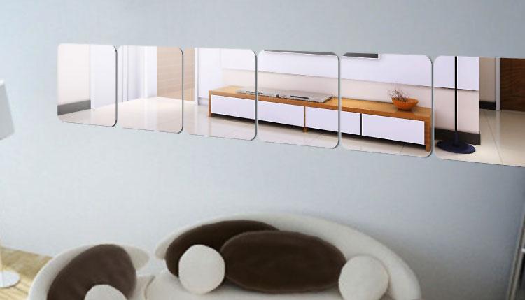 Foto dello specchio decorativo adesivo n.13