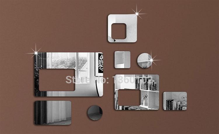 Foto dello specchio decorativo adesivo n.15