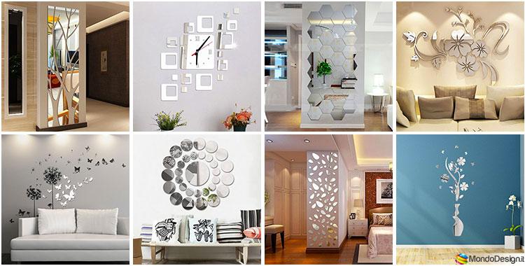 Adesivi Decorativi Per Pareti Of 50 Specchi Adesivi Decorativi Per Pareti Dal Design