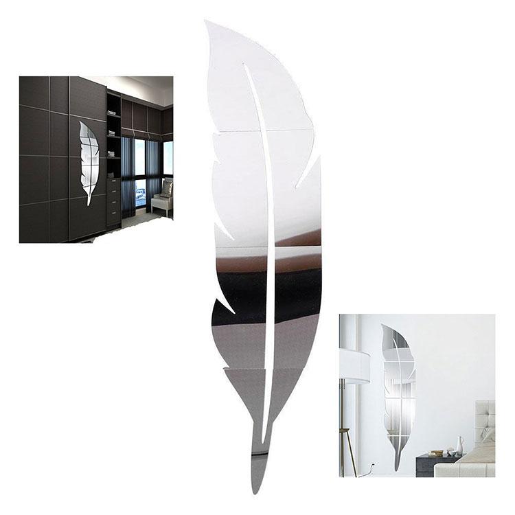 Modello di specchio adesivo decorativo n.34