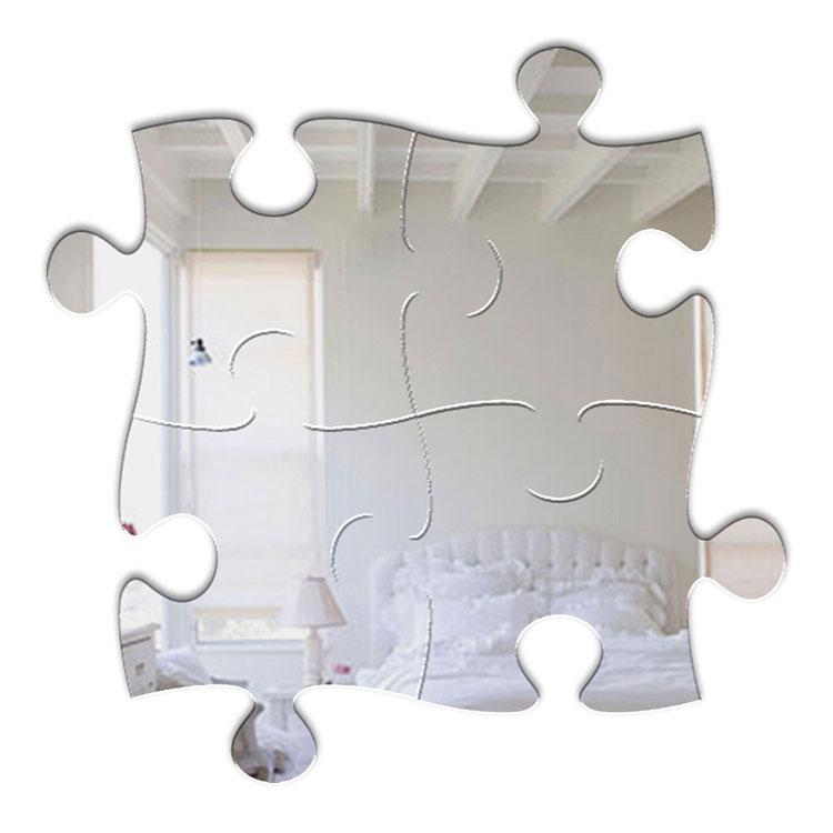Modello di specchio adesivo decorativo n.36