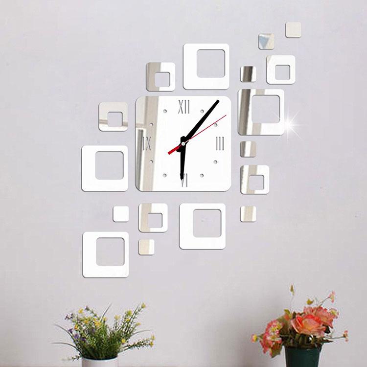 Modello di specchio adesivo decorativo n.37
