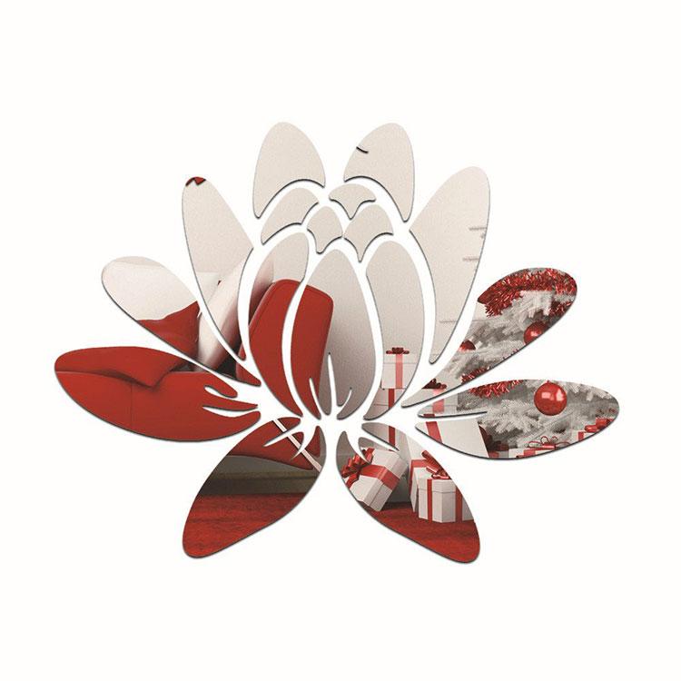 Modello di specchio adesivo decorativo n.49