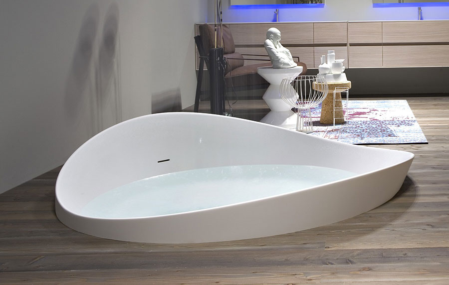 Modello di vasca da bagno moderna n.01