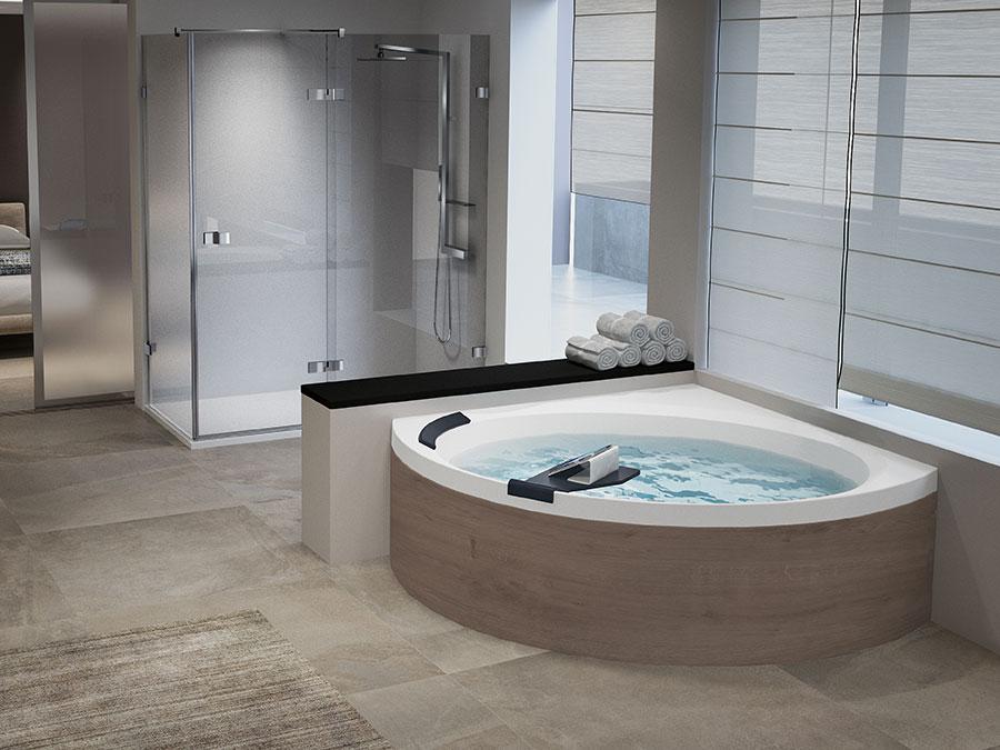 Modello di vasca da bagno moderna n.05