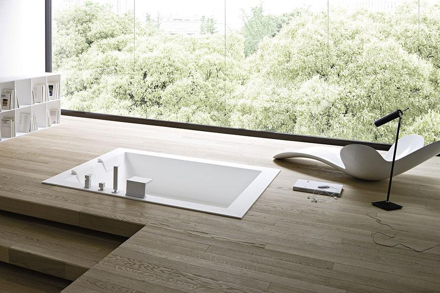 Modello di vasca da bagno moderna n.09