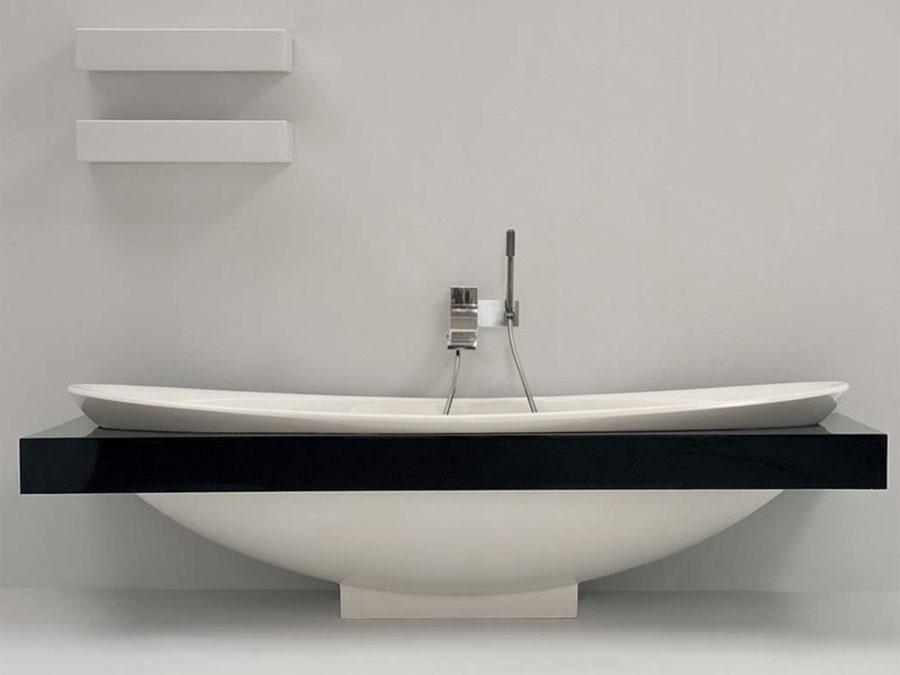 Modello di vasca da bagno moderna n.13