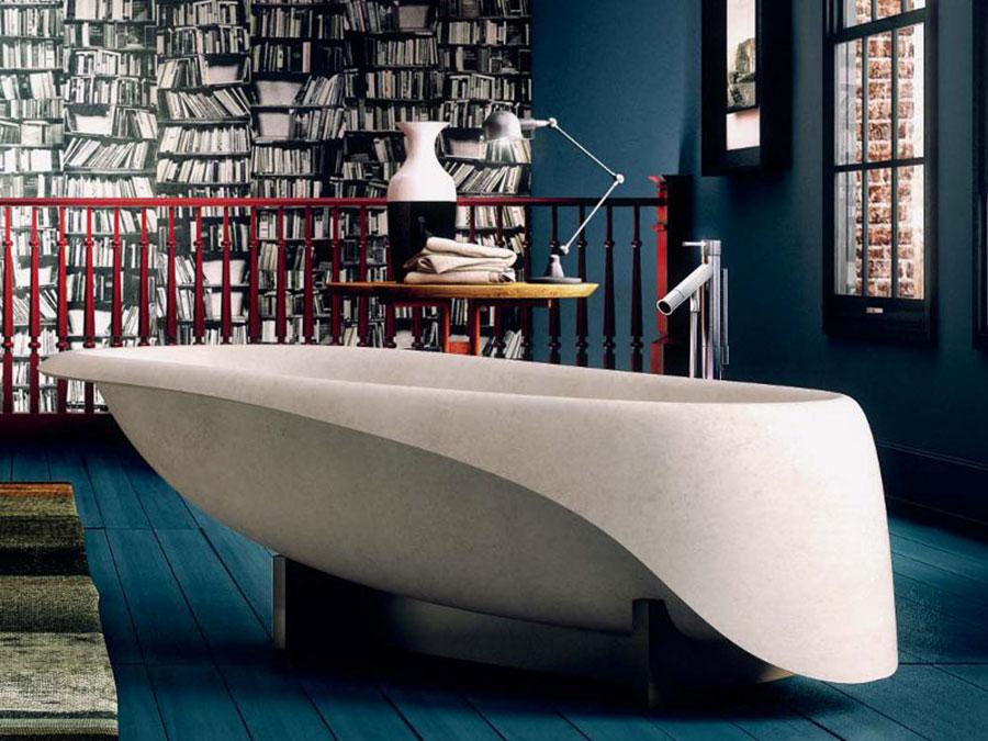 Modello di vasca da bagno moderna n.14