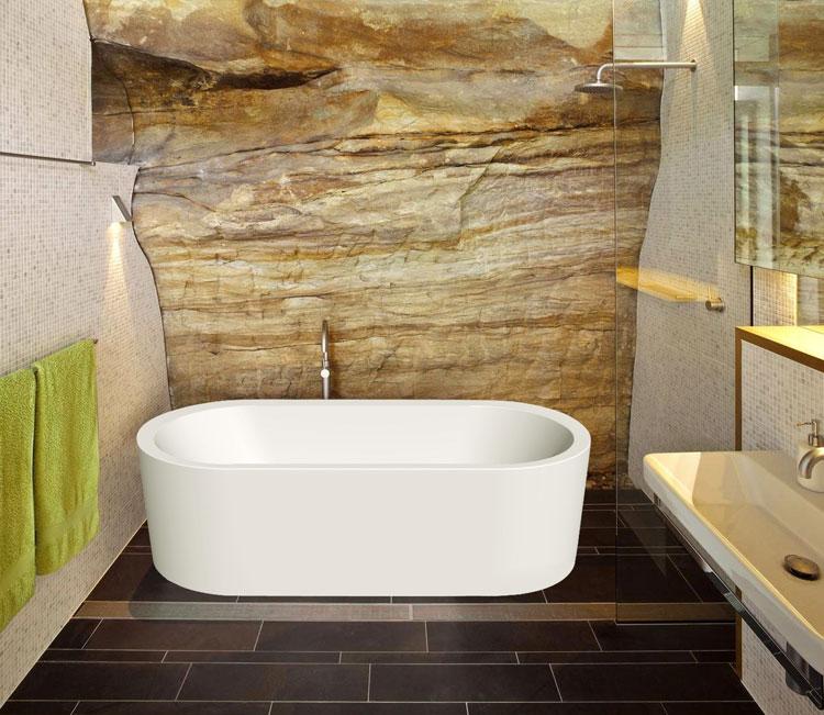 Foto della vasca da bagno moderna n.01