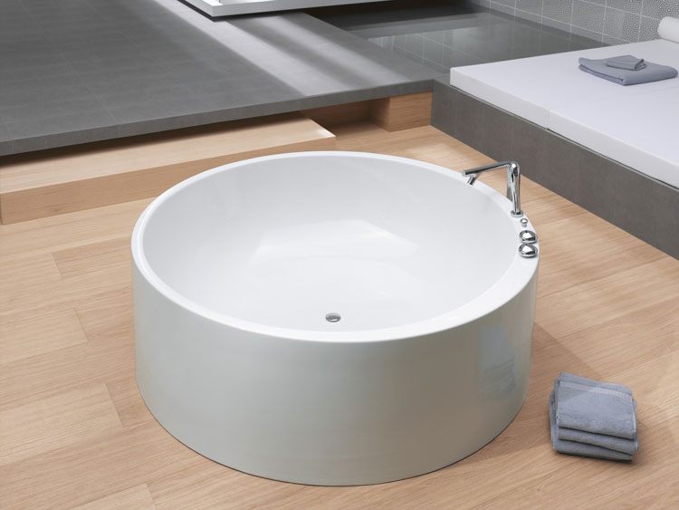 Foto della vasca da bagno moderna n.02