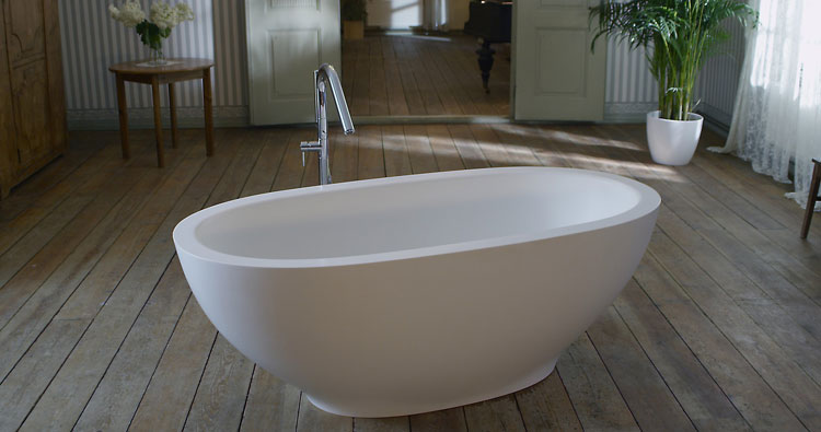 Foto della vasca da bagno moderna n.03