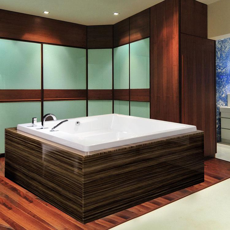Foto della vasca da bagno moderna n.04