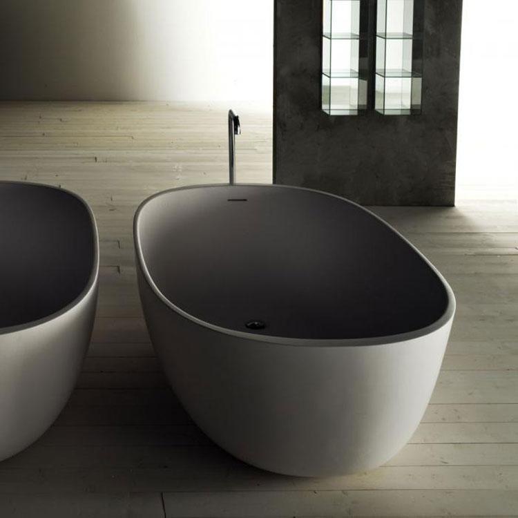 Foto della vasca da bagno moderna n.07