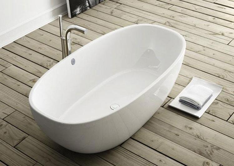 Foto della vasca da bagno moderna n.08