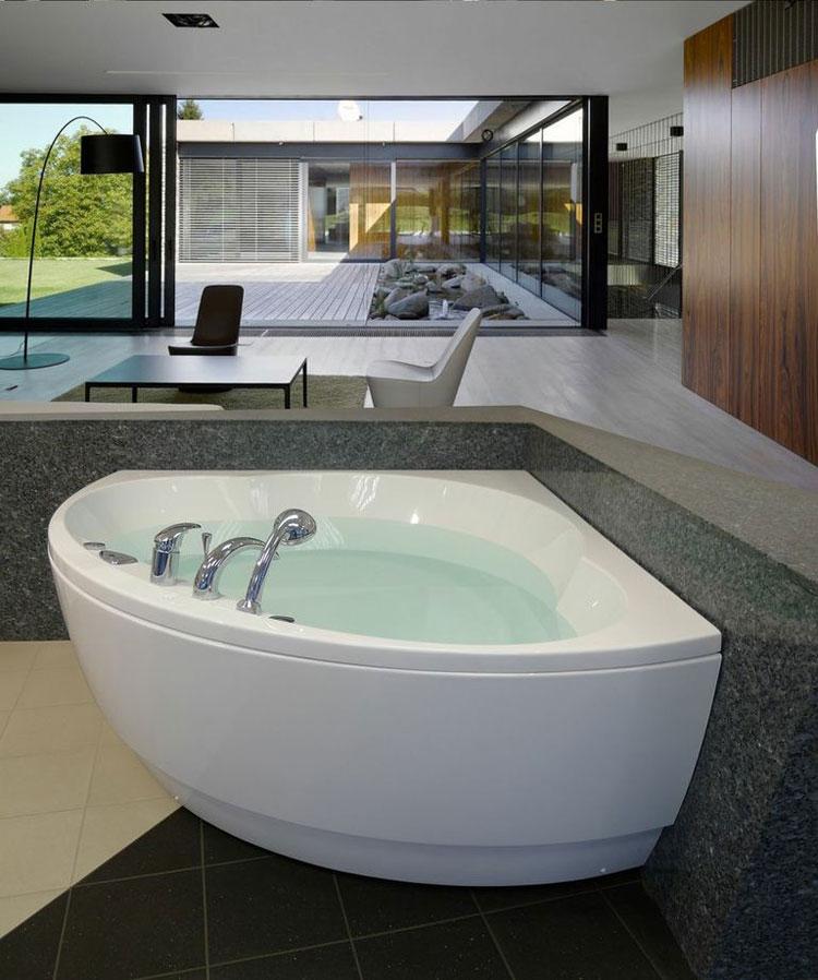 Foto della vasca da bagno moderna n.09