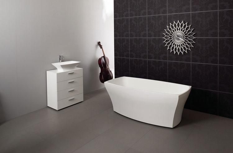 Foto della vasca da bagno moderna n.10